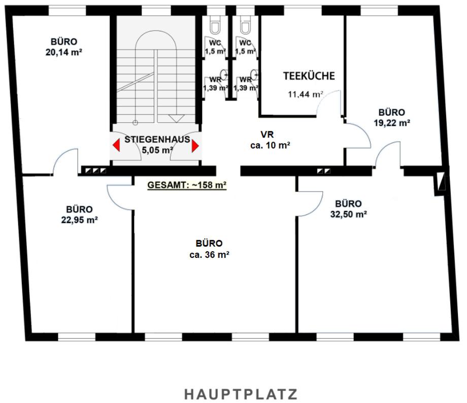 Plan Büro Hauptplatz